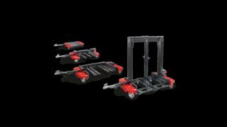 Flexible Logistikzüge von Linde Material Handling der Modellreihe LT