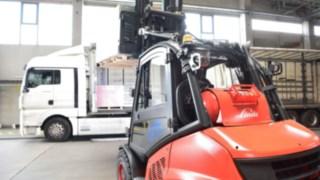 V-Stapler, Lager, Logistik, Linde Material Handling