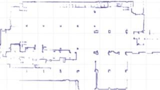 2D-Karte der erfassten Umgebung
