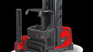 Das Schmalgang-Kombifahrzeug K von Linde Material Handling