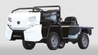 Elektrofahrzeug für Industrie- und Werksverkehr von Goupil