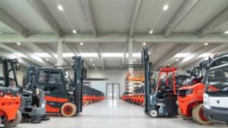 Suffel Protfolio mit Linde Fluförderzeuge und Industriemaschinen