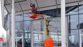 Suffel MItarbeiter auf Hubarbeitsbühne